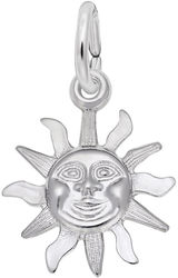 Sunburst Charm (Choose Metal) by Rembrandt