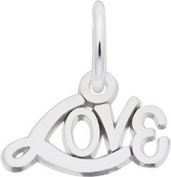 Written Love Charm (Choose Metal) by Rembrandt