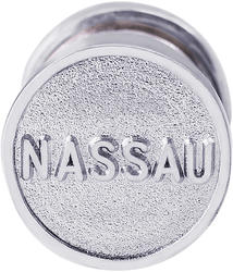 Nassau Sand Capsule Charm (Choose Metal) by Rembrandt