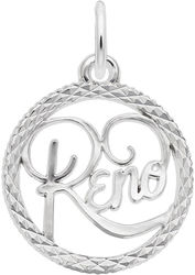 Reno Faceted Charm (Choose Metal) by Rembrandt