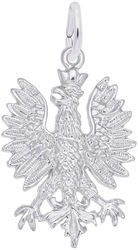 Polish Falcon Charm (Choose Metal) by Rembrandt
