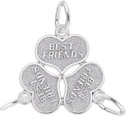 Three Best Friends Charm (Choose Metal) by Rembrandt