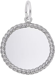 Extra Small Rope Charm (Choose Metal) by Rembrandt