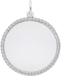 Large Rope Charm (Choose Metal) by Rembrandt