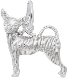 Chihuahua Charm (Choose Metal) by Rembrandt