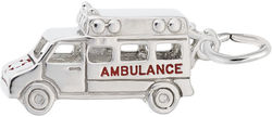 Ambulance Charm (Choose Metal) by Rembrandt