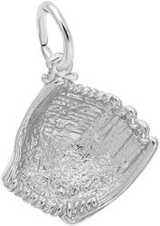 Baseball Glove Charm (Choose Metal) by Rembrandt