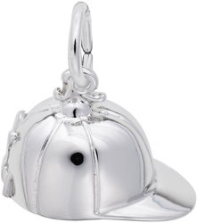 Riding Hat Charm (Choose Metal) by Rembrandt