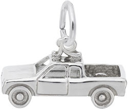 Pickup Truck Charm (Choose Metal) by Rembrandt