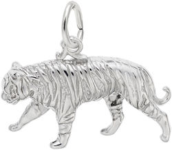 Tiger Charm (Choose Metal) by Rembrandt