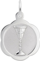 Patterned Communion Chalice Charm (Choose Metal) by Rembrandt