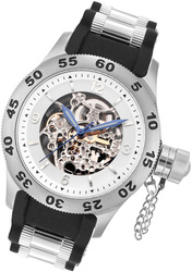 Rougois Automatic Skeleton Dial Naval Diver Watch