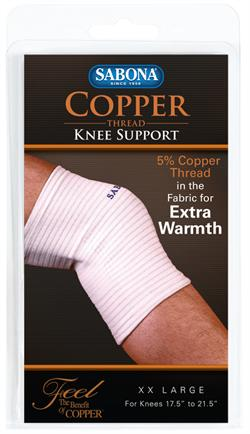 Sabona Copper Thread Knee Support