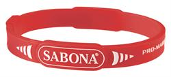 Sabona Pro-Magnetic Sport Wristband (Red)