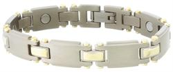 Sabona Titanium Duet Magnetic - Mens Executive Bracelet - DISCONTINUED