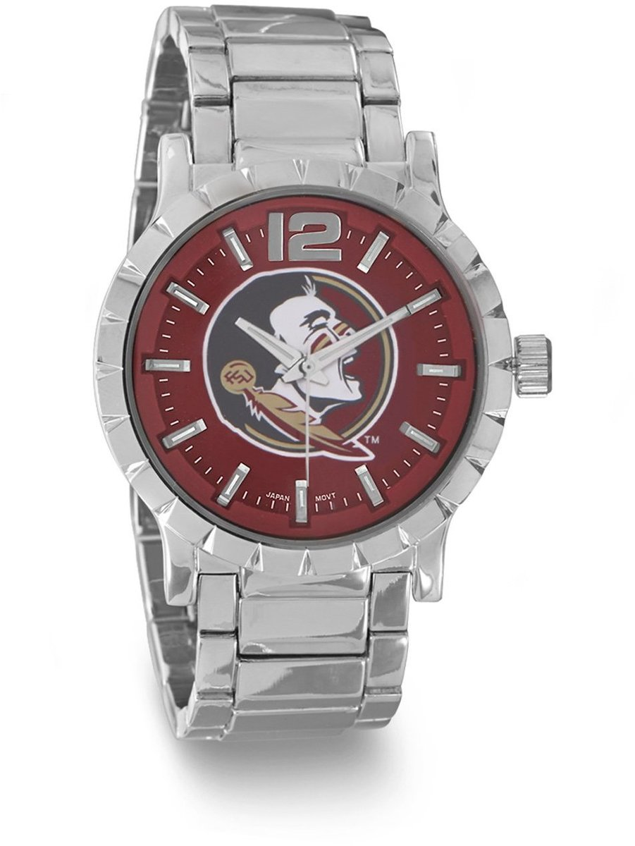 Collegiate Licensed Florida State University Mens Fashion Watch
