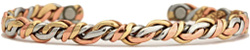 Rainforest - Sergio Lub Copper Magnetic Therapy Bracelet - Made in USA!