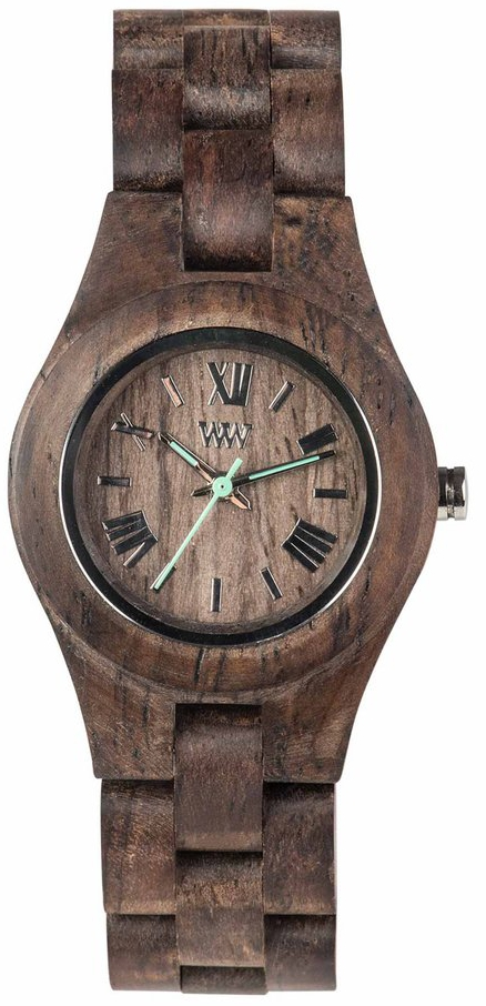 WeWood Wooden Watch - Criss Choco Rough - LIMITED STOCK