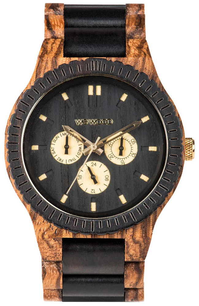 WeWood Wooden Watch - Kappa Zebrano - LIMITED STOCK