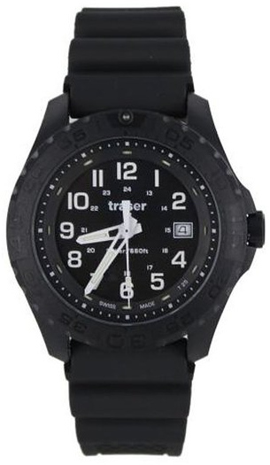 Traser Tritium Watch - Sport Collection - Outdoor Pioneer w/ Rubber Strap - 102904