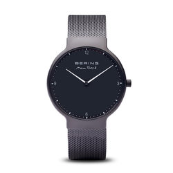 Bering Time Watch -  Mens Max Rene Black Matte 15540-123