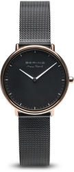 Bering Time Watch -  Max Rene Ladies Black Dial and Mesh Band 15730-162