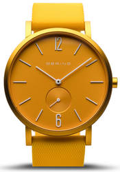 Bering Time Watch - True Aurora Unisex Matte Yellow 16940-699