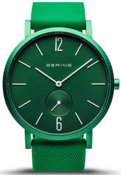 Bering Time Watch - True Aurora Unisex Matte Green 16940-899