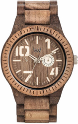 WeWood Wooden Watch - Oblivio Chocolate Nut Rough