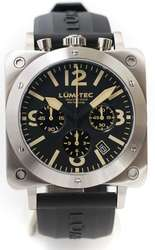 Lum-Tec Watch - Bull42 - A18 Mens Stainless Steel - DISCONTINUED