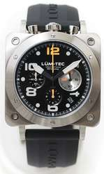 Lum-Tec Watch - Bull42 - A21 Mens Stainless Steel - DISCONTINUED
