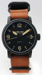 Lum-Tec Watch - Combat B - B35 Automatic Mens w/ Two Straps - DISCONTINUED