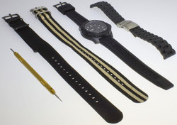 ArmourLite Holiday Exclusive Kit - Isobrite ISO202.KT - Watch w/ 4 Bands & Pin Remover - DISCONTINUED