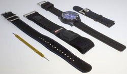 ArmourLite Holiday Exclusive Kit - Isobrite ISO402.KT - Watch w/ 4 Bands & Pin Remover - DISCONTINUED