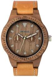 WeWood Wooden Watch - Leo Leather Nut US