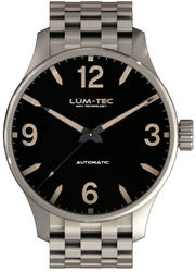 Lum-Tec Watch - C Series - C5 Automatic Mens w/ Brushed Stainless Steel Bracelet