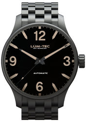 Lum-Tec Watch - C Series - C7 Automatic Mens w/ Black PVD Bracelet