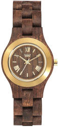 WeWood Wooden Watch - Criss MB Choco Gold Tone - DISCONTINUED