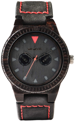 WeWood Wooden Watch - Leo Terra Black