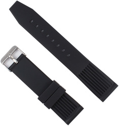 ArmourLite - Replacement Black Rubber Strap Band NBR86 22mm