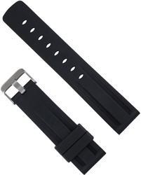 ArmourLite - Replacement Black Rubber Strap Band NBR636 22mm