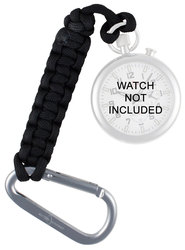 ArmourLite - Pocket Watch Paracord Tether w/ Aluminum Carabiner