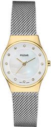 Pulsar Swarovski Crystal Collection w/ Mother of Pearl Dial PH8396 Womens Watch